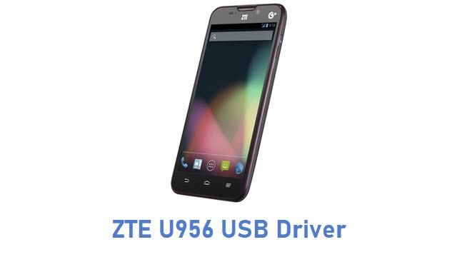 ZTE U956 USB Driver