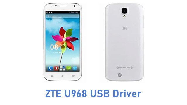 ZTE U968 USB Driver
