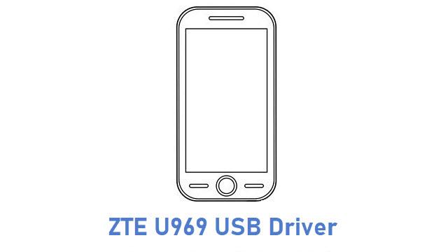 ZTE U969 USB Driver