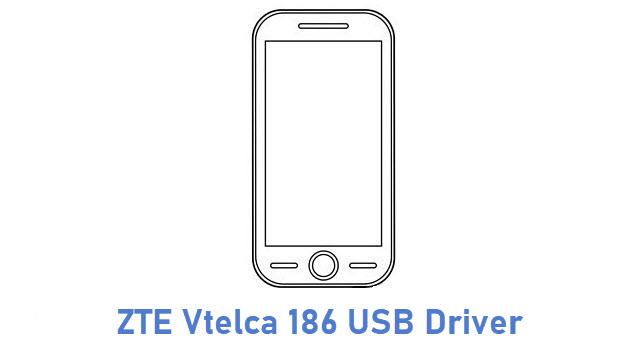 ZTE Vtelca 186 USB Driver