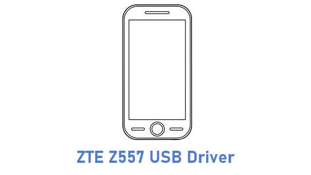 ZTE Z557 USB Driver