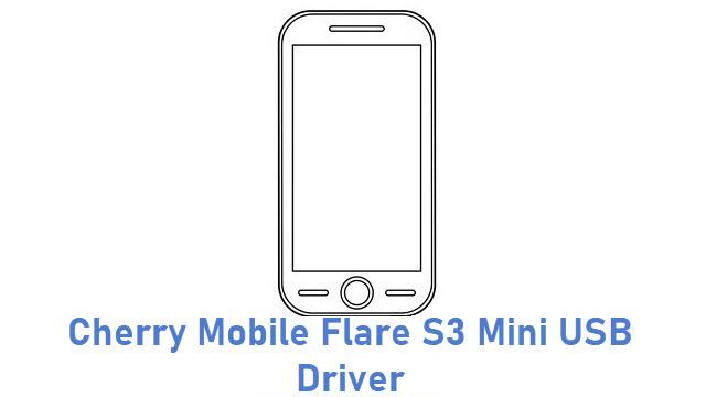 Cherry Mobile Flare S3 Mini USB Driver
