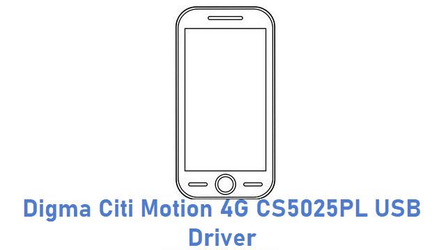Digma Citi Motion 4G CS5025PL USB Driver
