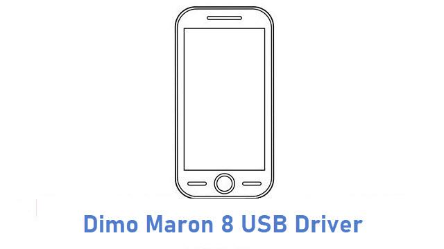 Dimo Maron 8 USB Driver