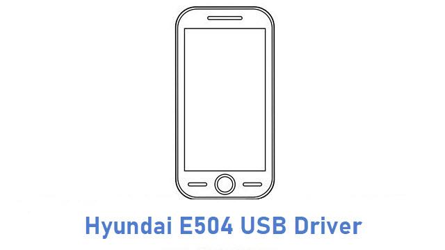Hyundai E504 USB Driver