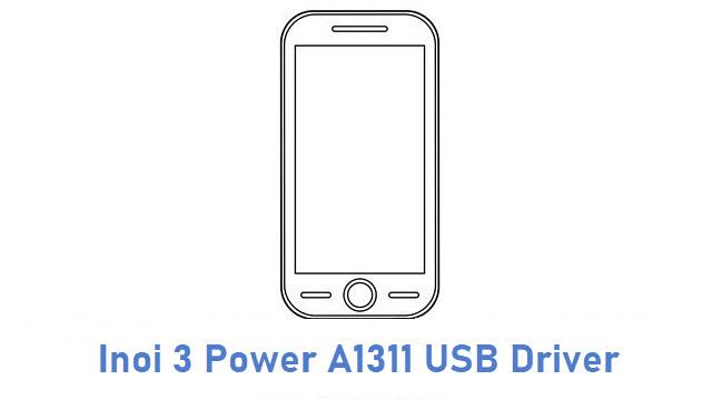 Inoi 3 Power A1311 USB Driver