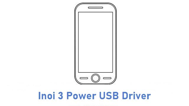 Inoi 3 Power USB Driver