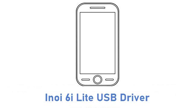 Inoi 6i Lite USB Driver