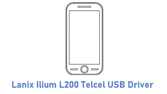 Lanix Ilium L200 Telcel USB Driver