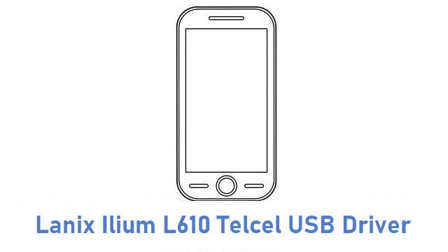Lanix Ilium L610 Telcel USB Driver