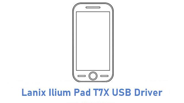 Lanix Ilium Pad T7X USB Driver