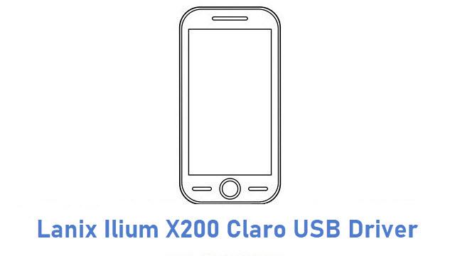 Lanix Ilium X200 Claro USB Driver