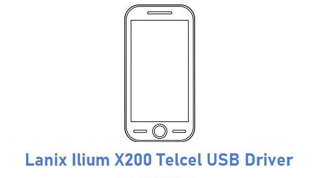 Lanix Ilium X200 Telcel USB Driver