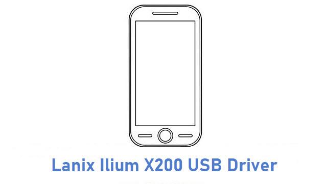 Lanix Ilium X200 USB Driver