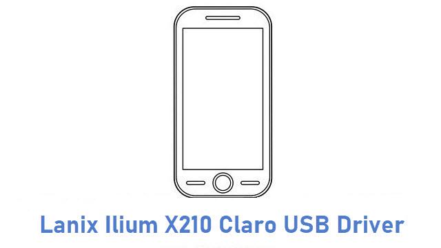 Lanix Ilium X210 Claro USB Driver