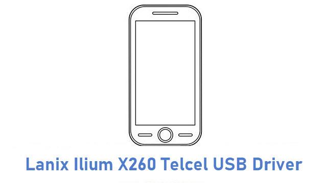 Lanix Ilium X260 Telcel USB Driver