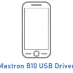 Maxtron B10 USB Driver