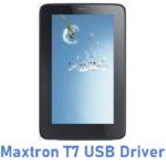 Maxtron T7 USB Driver