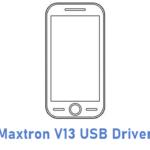 Maxtron V13 USB Driver
