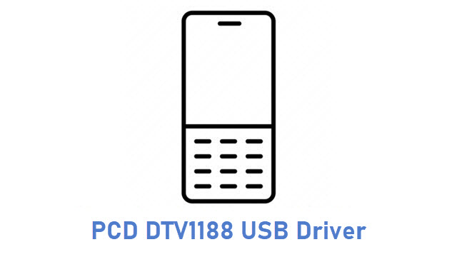 PCD DTV1188 USB Driver
