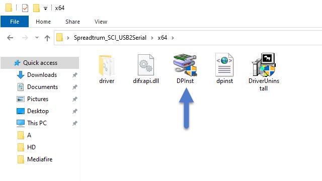 Spreadtrum SCI Application