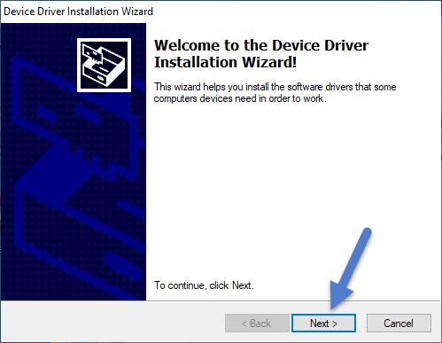 Spreadtrum SCI Driver Installation Wizard