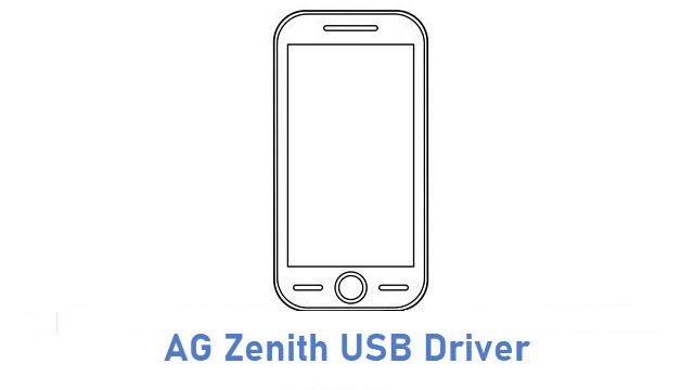 AG Zenith USB Driver