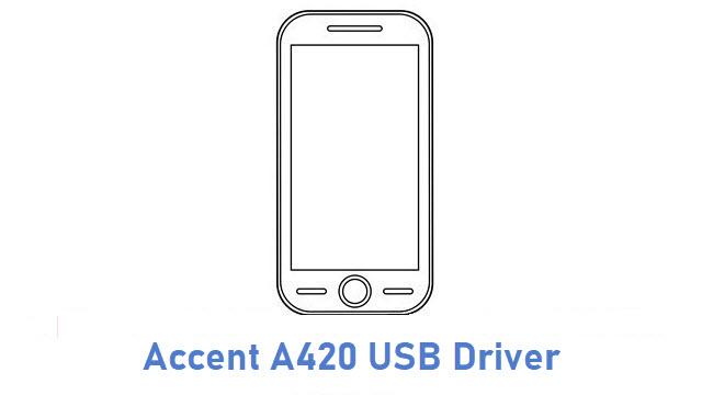 Accent A420 USB Driver