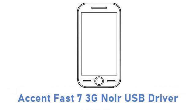 Accent Fast 7 3G Noir USB Driver