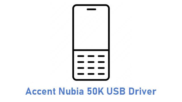 Accent Nubia 50K USB Driver