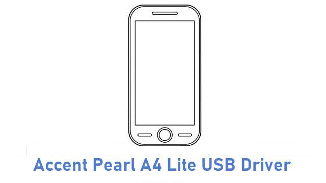 Accent Pearl A4 Lite USB Driver