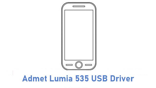 Admet Lumia 535 USB Driver