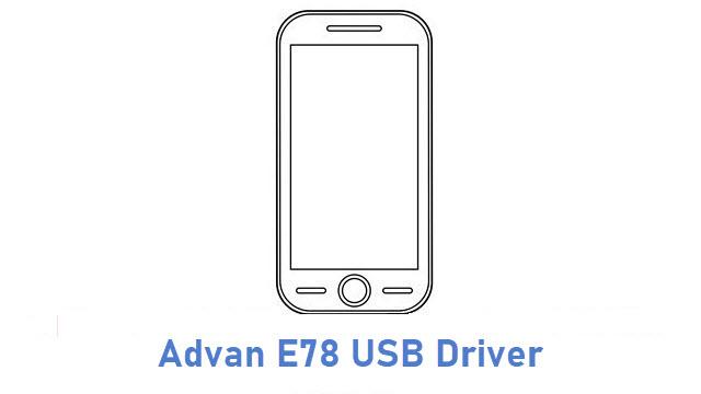 Advan E78 USB Driver