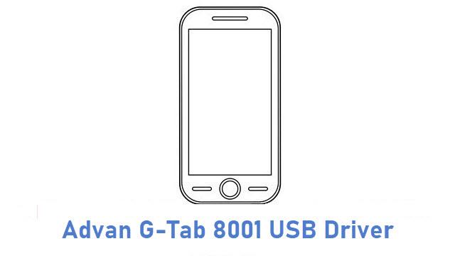 Advan G-Tab 8001 USB Driver