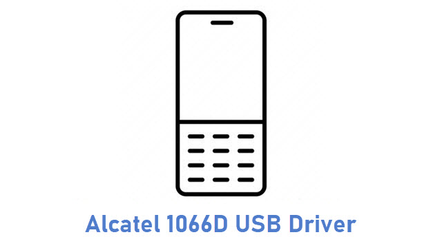 Alcatel 1066D USB Driver