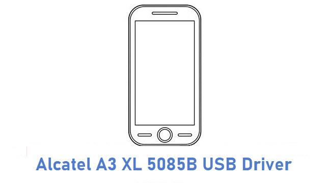 Alcatel A3 XL 5085B USB Driver