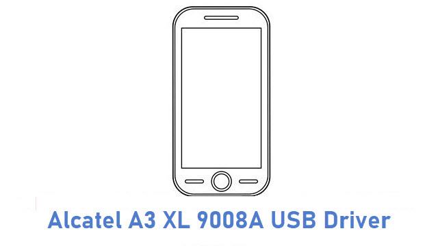 Alcatel A3 XL 9008A USB Driver