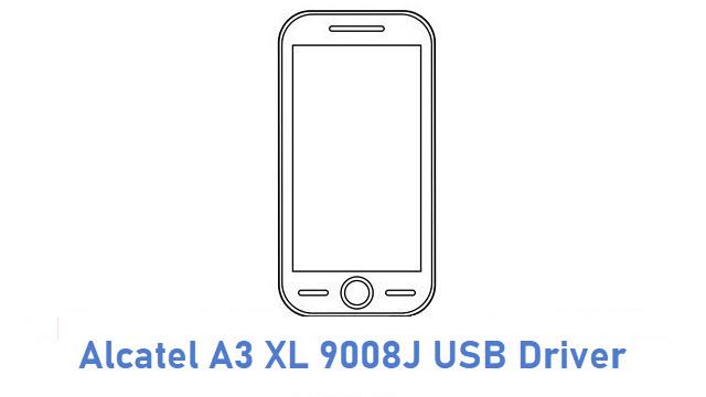 Alcatel A3 XL 9008J USB Driver