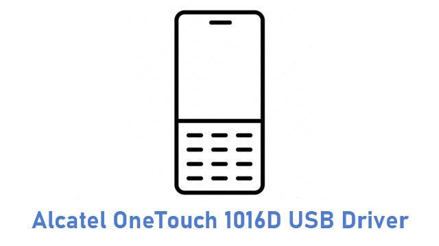 Alcatel OneTouch 1016D USB Driver