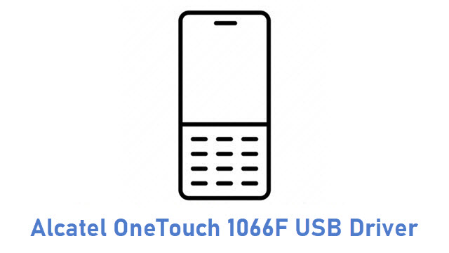 Alcatel OneTouch 1066F USB Driver