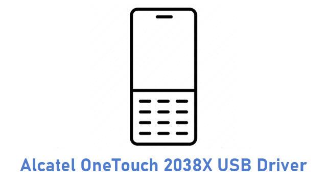 Alcatel OneTouch 2038X USB Driver