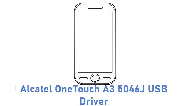 Alcatel OneTouch A3 5046J USB Driver