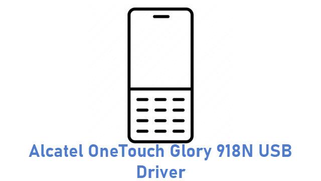 Alcatel OneTouch Glory 918N USB Driver