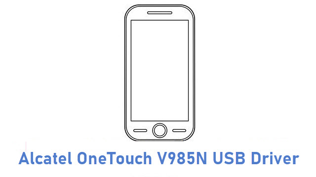 Alcatel OneTouch V985N USB Driver