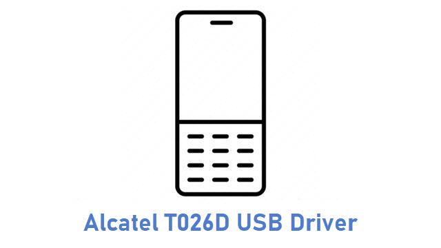 Alcatel T026D USB Driver