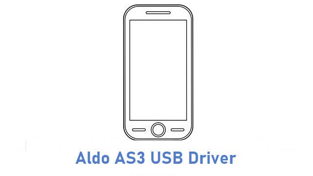 Aldo AS3 USB Driver