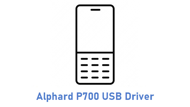 Alphard P700 USB Driver