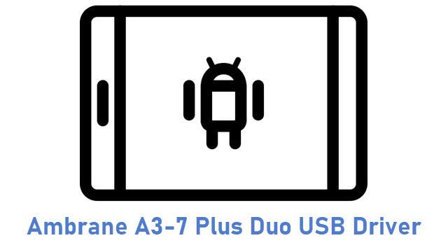 Ambrane A3-7 Plus Duo USB Driver