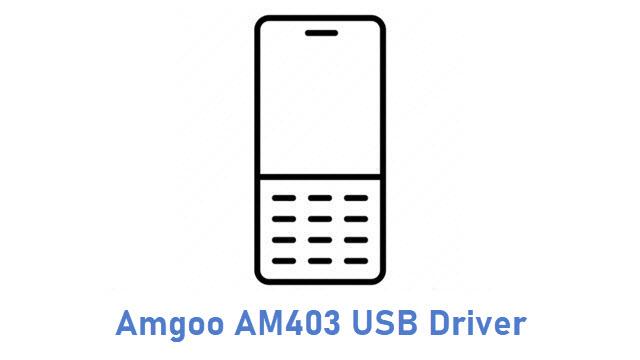 Amgoo AM403 USB Driver