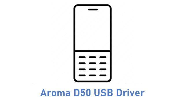 Aroma D50 USB Driver